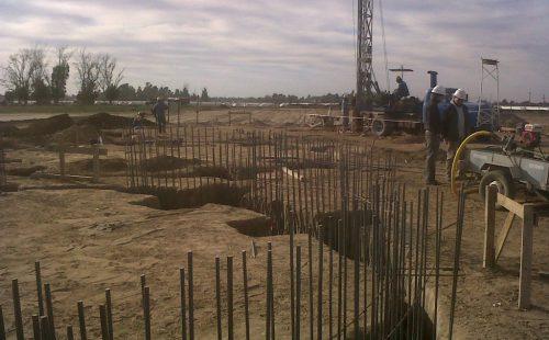 Construccion de planta Rio Cuarto